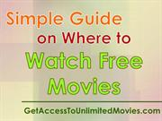 Simple Guide on Where to Watch Free Movies
