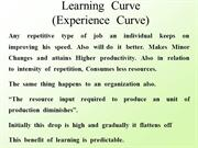 06. Learning  curve