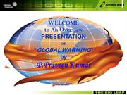 Global warming by praveen