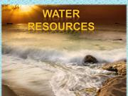 water resources  final