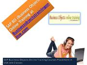 sap bo online training at business objectstrainingonline.com