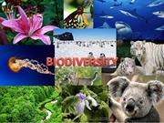 VIII CONSERVATION AND BIODIVERSITY