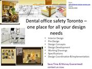 Dental office safety Toronto