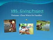 VBS- Giving Project 2012-Sound