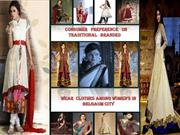 Consumer prefence on traditional branded wear