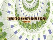 7 HABITS OF HIGHLY FRUGAL PEOPLE