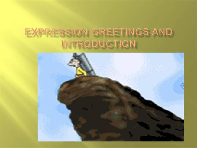 Expression greetings authorstream m4hsunfo Image collections