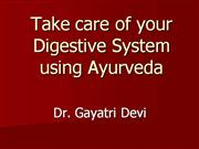 Take care of your Digestive System using...