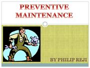 Preventive maintenance.ppt