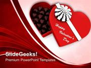 FOOD CHOCOLATES BOX VALENTINES DAY PPT TEMPLATE