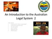 Session 2 An Introduction to the Australian Legal System  2