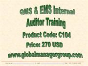 ISO 9001 and ISO 14001 EQMS auditor training.pdf
