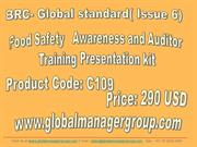 BRC Food Safety Management System Awareness & Auditor Training