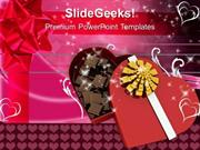 FOOD CHOCOLATE BOX VALENTINES GIFT PPT TEMPLATE