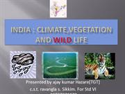 INDIA wild life .climate and vegetation (2)