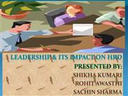 Leadership And Its Impact On Human Resou...