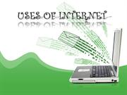 USES OF INTERNET