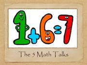The Five Math Talks