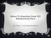 WoodworkingYall Woodworking Plans and More!