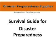 Disaster Preparedness Supplies