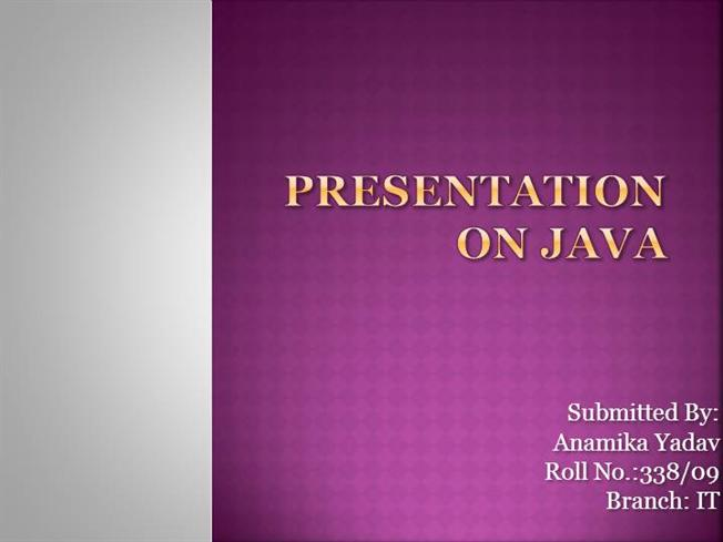 Core java presentation authorstream toneelgroepblik Gallery