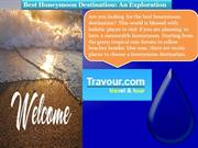 Best Honeymoon Destination An Exploration