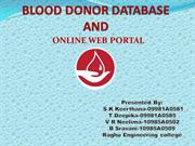 BLOOD DONOR PPT