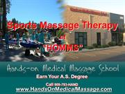 Sports Massage Therapy at Hands On Medical Massage School