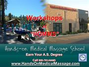 Hands On Medical Massage School Workshops
