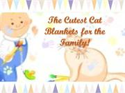 The Cutest Cat Blankets For the Family