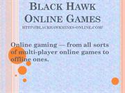 black hawk online games-