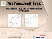 Pharma Raw Material by Vesta Pharmachem Private Limited, Surat