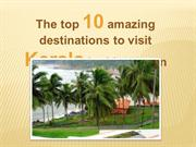 The top ten amazing destinations to visit Kerala in this season