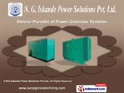 Generator Sets by N.G.Iskande Power Solutions Pvt.Ltd., Pune