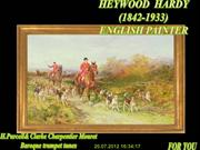 HEYWOOD HARDY (1842-1933)ENGLISH PAINTER (A C) (NXPowerLite)