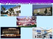 Top 5 Guest House Bournemouth
