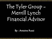 The Tyler Group - Merrill Lynch Financial Advisor