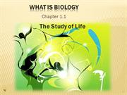 Biology 1.1 What is Biology