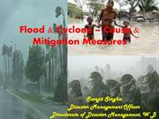 Flood & Cyclone – Cause & Mitigation Measures