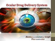 ocular sustained release drug delivery
