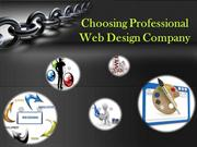 Tips to Select a Professional Web Design Company