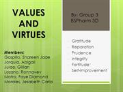 Bioethics Values and Virtues