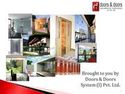 Architectural hardware companies in india, Doors and Windows