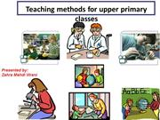 teaching method in upper primary