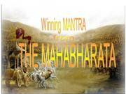 Winning Strategy From Mahabharata