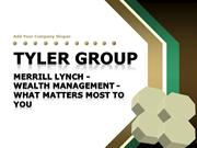Merrill Lynch - Wealth Management - What Matters Most To You