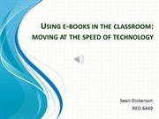 Using eBooks - Teacher Module