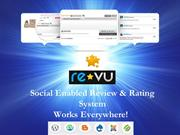 Social Enabled Review & Rating System