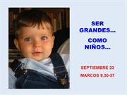 LECTIO DIVINA PARA NIOS PARA EL 23 DE SEPTIEMBRE DE 2012
