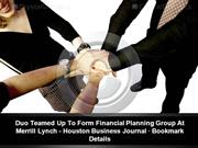 The Tyler Group - Duo Teamed Up To Form Financial Planning Group